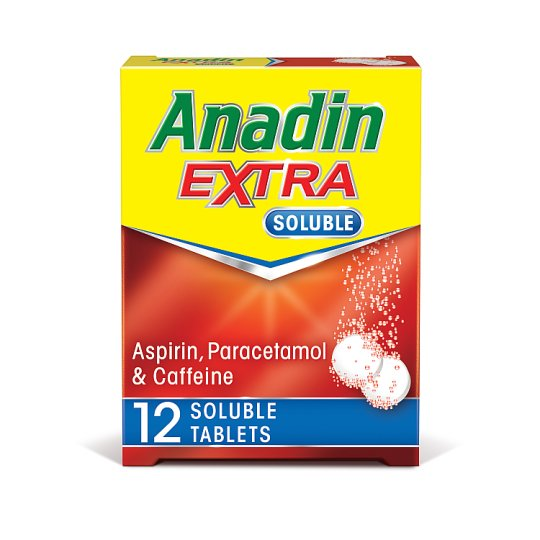 Anadin Extra Soluble 12 Tablets