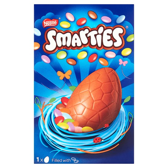 image 1 of Smarties Medium Easter Egg 122G