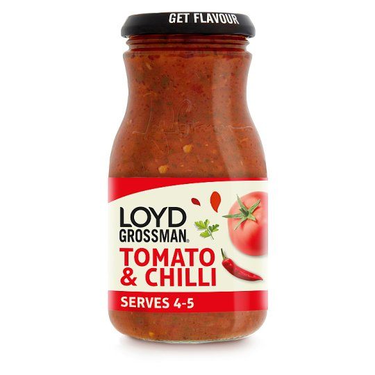 Loyd Grossman Tomato And Chilli Pasta Sauce 660G