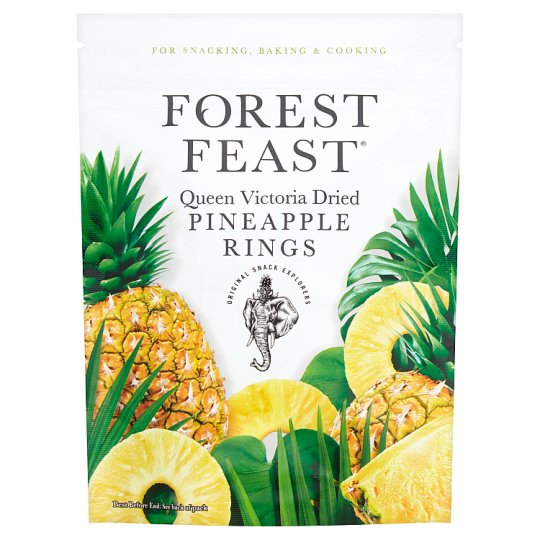 Forest Feast Dried Pineapple Rings 100G