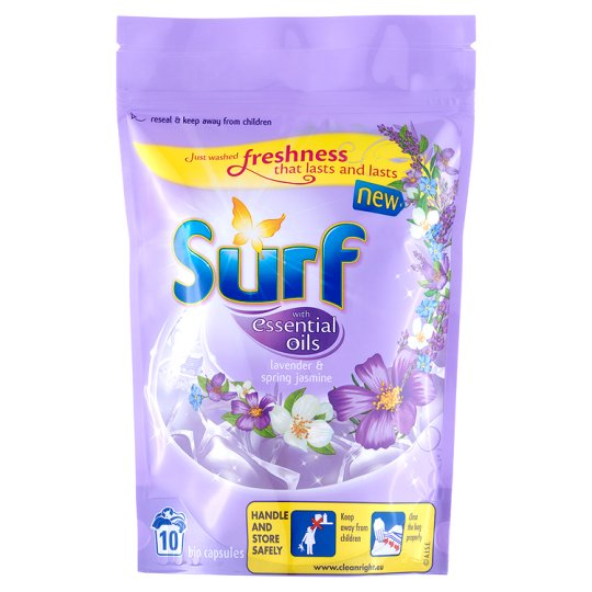 Surf Lavender Washing Capsules 10 Wash 263G