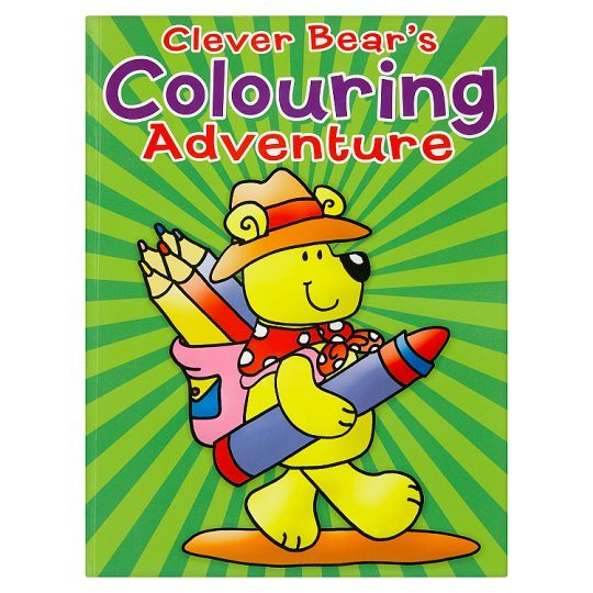 Clever Bear Colouring Book A4