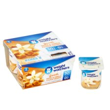 image 2 of Weight Watchers Toffee And Vanilla Yogurt 4 X110g