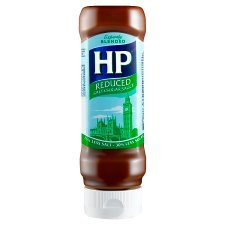 Hp Top Down Reduced Sugar & Salt Brown Sauce 450G