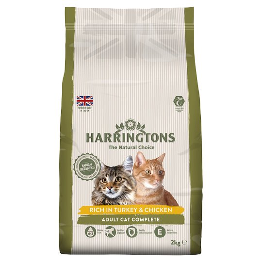 Harringtons Turkey Cat Food 2Kg