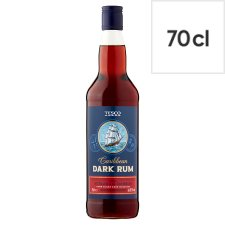 Tesco Dark Rum 70Cl