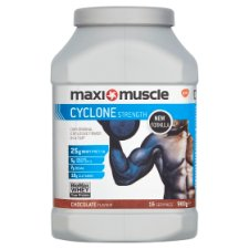 Maximuscle Cyclone Powder Chocolate Tub 980G