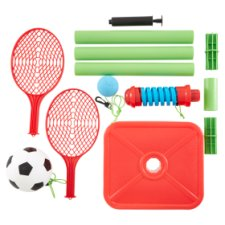 Carousel Football And Tennis Swingset