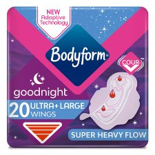 Bodyform Ultra Night Duo 20S