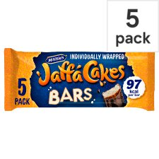 Mcvities Jaffa Cake Bars 5 Pack