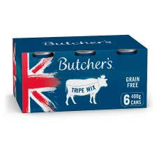 Butcher's Tripe Dog Food Tins 6X400g