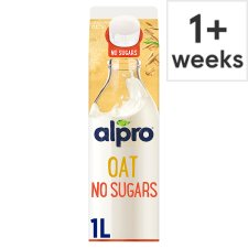 Alpro Oat Unsweetened 1000 Ml