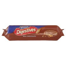 Chocolate Digestives - Tesco Groceries