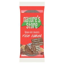 Natures Store Dark Chocolate Rice Cakes 100G