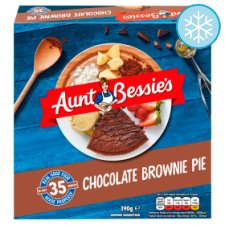 Aunt Bessie's Chocolate Brownie Pie 390G