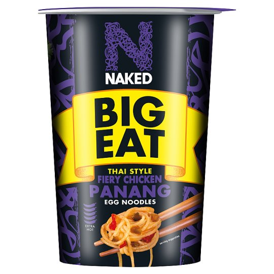 Naked Noodle Panang Fiery Chicken Noodle Pot 104G