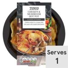 Tesco Chicken And Mushroom Hotpot 450G
