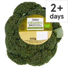 Tesco Organic Broccoli 300G