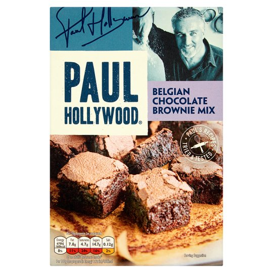 Paul Hollywood Luxury Belgian Chocolate Brownie Mix 480G