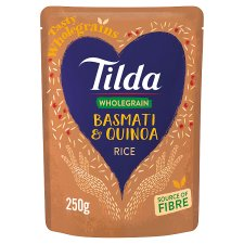 Tilda Brown Basmati And Quinoa Steamed Rice 250G