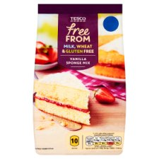 Tesco Free From Vanilla Sponge Mix 350G