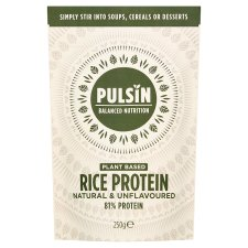 Pulsin Rice Protein Isolate Powder 250G