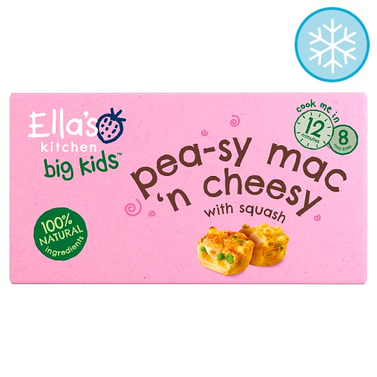 Ella's Kitchen Big Kids Mac'n Cheese With Squash 200G