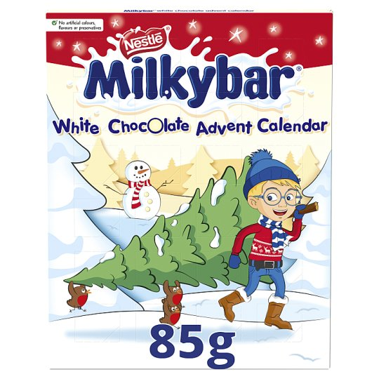 image 1 of Nestle Milkybar Advent Calendar 85G