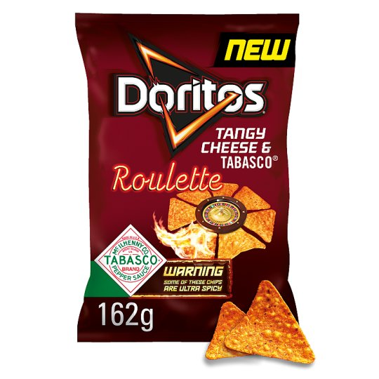 image 1 of Doritos Roulette Hot Chilli Tortilla Chips 162 G