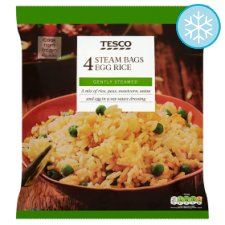 Tesco Micro Rice Egg Fried Rice 4 X 150G