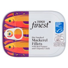 Tesco Finest Mackerel With Chipotle 110G