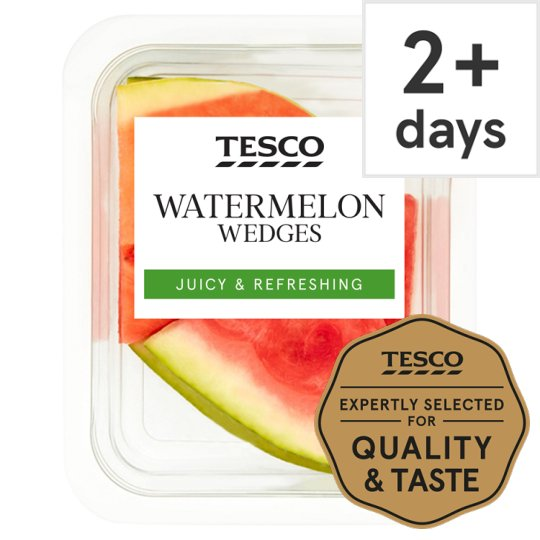 image 1 of Tesco Watermelon Wedges 550G