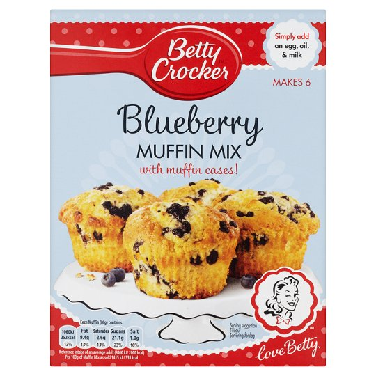 Betty Crocker Wild Blueberry Muffin Mix 375G