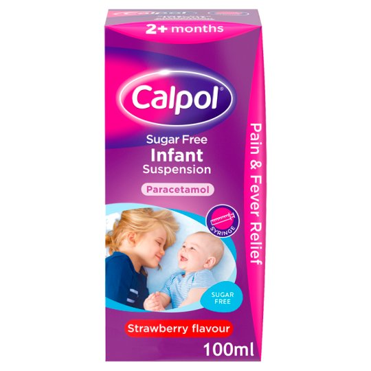 image 1 of Calpol Infant Sugar Free 100Ml