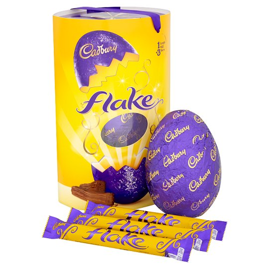 image 1 of Cadbury Flake Extra Large Easter Egg 294G