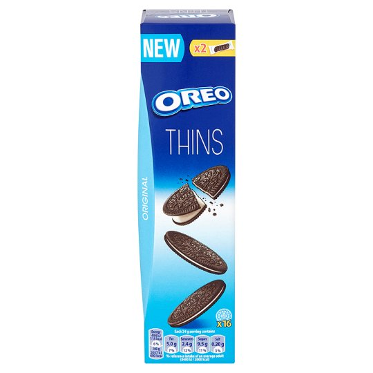 image 1 of Oreo Thins Sandwich Biscuits 96G