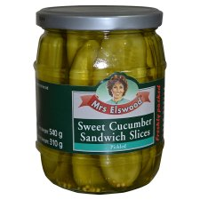 Mrs Elswood Sandwich Slices Cucumbers 540G