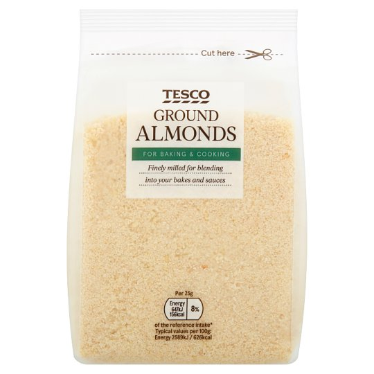 Tesco Ground Almonds 200G