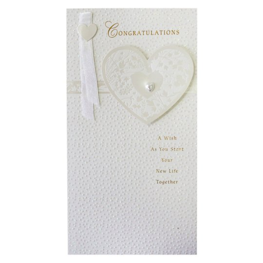Hallmark Wedding Card Congratulations