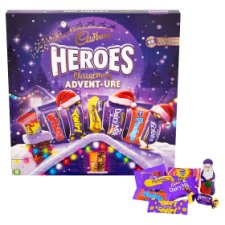 Cadbury Heroes Advent Calendar 232G