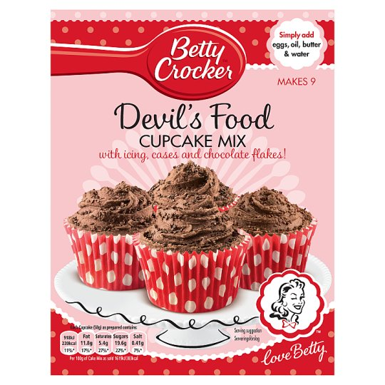 Betty Crocker Chocolate Cup Cakes 301G