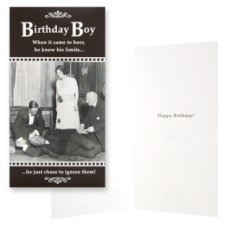 Hallmark Birthday Card Birthday Boy Humour