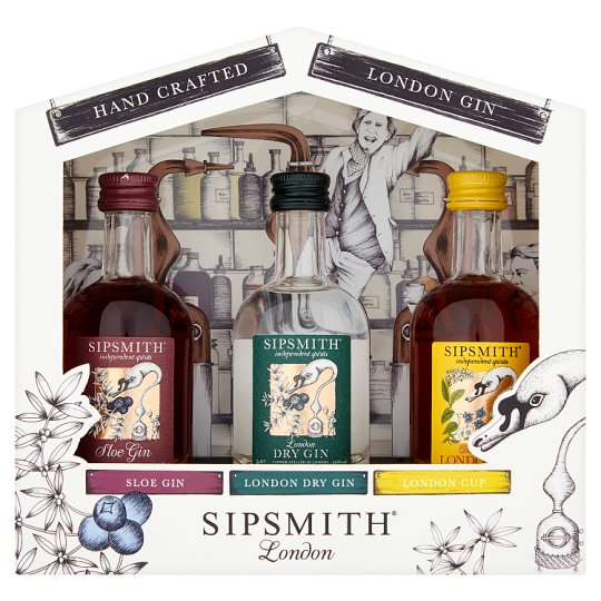 Sipsmith Distillery 5Cl X3 Pack Giftbox