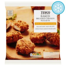 Tesco Frozen Baked Chicken Nuggets 450G