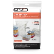 Ez Vacuum Extra Large Cube Storage Bags 2Pc