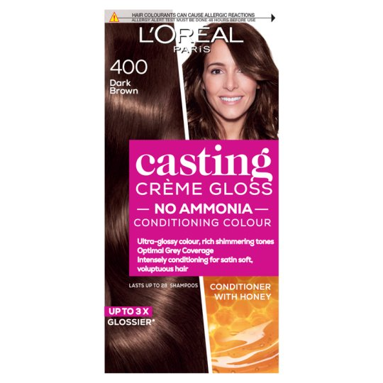 Ccg 400 Dark Brown SemiPermanent Hair Dye Tesco Groceries
