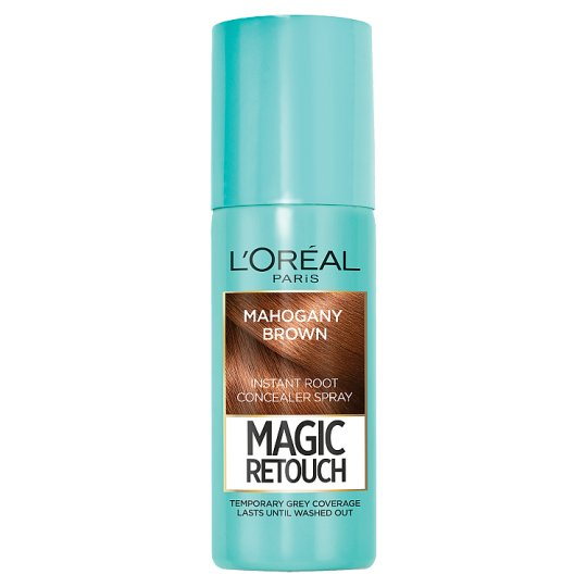 image 1 of L'oreal Magic Retouch Root Touch Up Mahogany Brown 75Ml