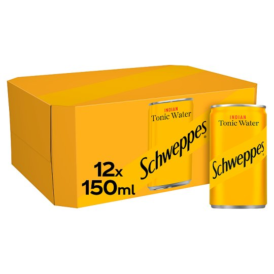 image 1 of Schweppes Tonic Water 12 X 150Ml