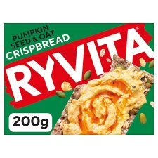 Ryvita Pumpkin And Oats Crisp Bread 4X50g