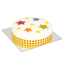 image 2 of Tesco Stars Party Cake